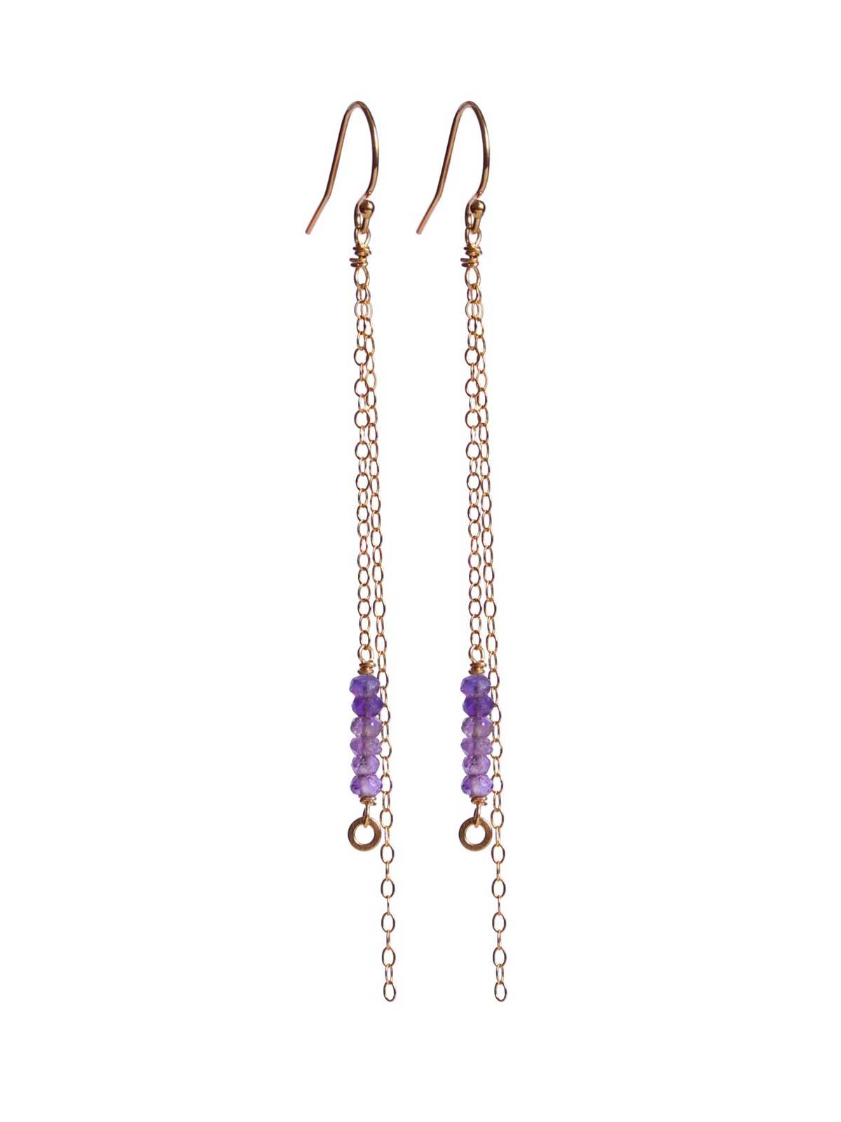fidji-amethyst long-earrings-gold