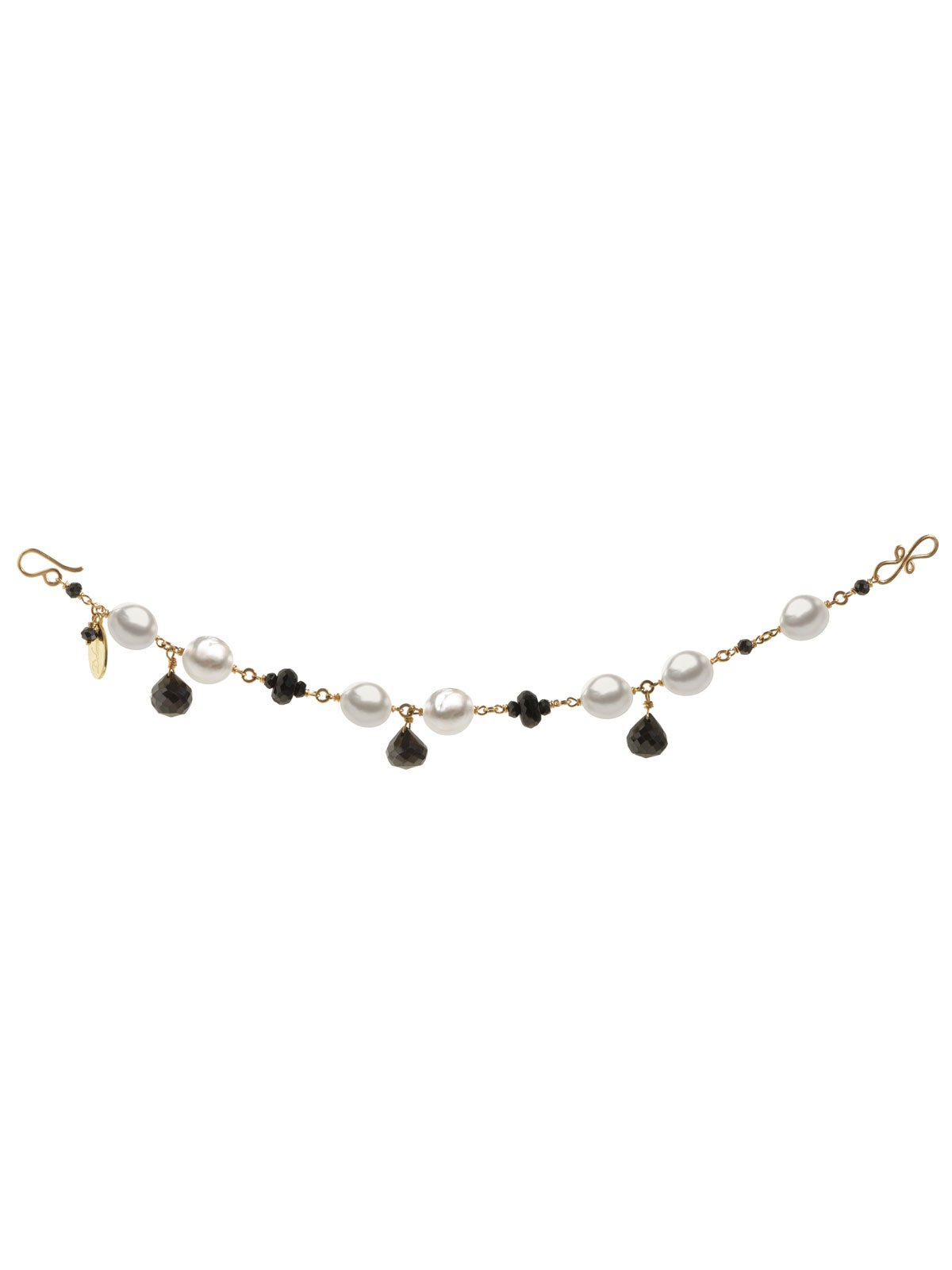 Delanacre, South Sea Pearl CAVIAR BRACELET 14K Yellow Gold