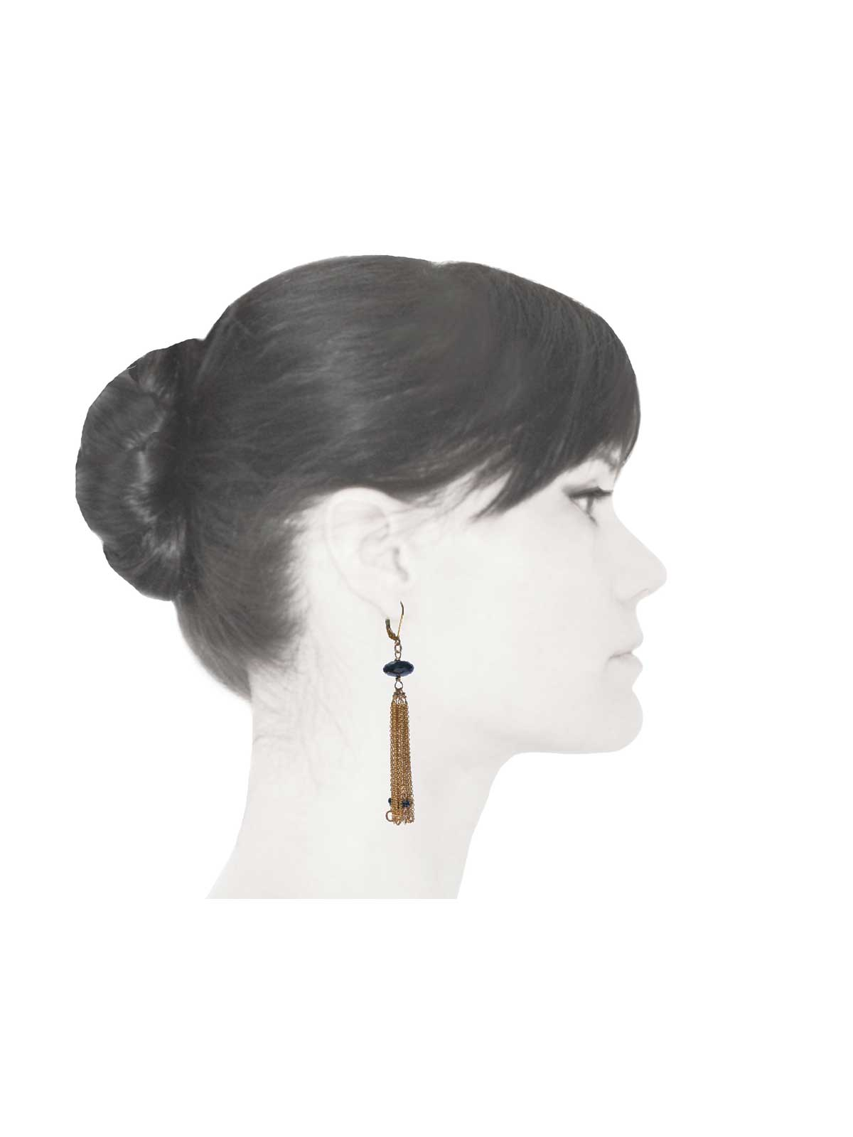 Black-Onyx-Spinel-earrings