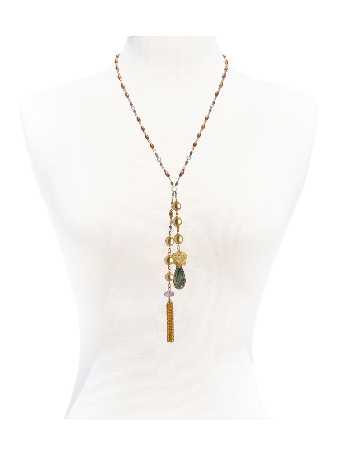 Delanacre, Perle d'Australie DIVINE COLLIER Or 14 carats